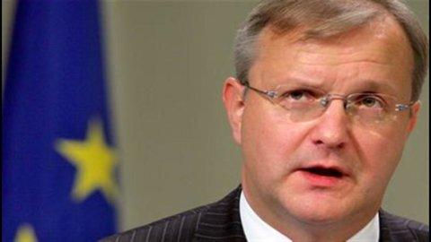 "Rehn: ""Ingiustificate le paure sui bond"""