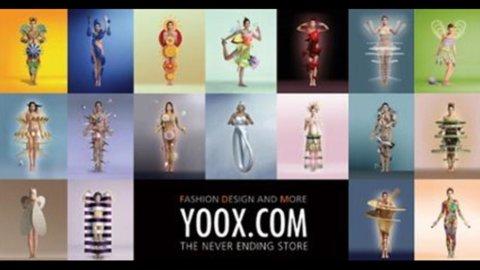 Yoox, ricavi in crescita del 29% nel 2012