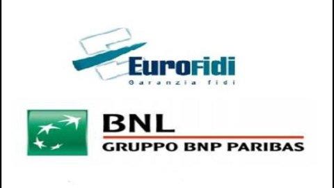 Pmi, accordo tra Bnl ed Eurofidi a sostegno delle imprese