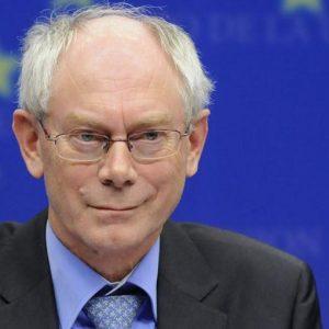 """Van Rompuy: """"Italia e Spagna contribuiranno alla stabilità della zona euro"""""""