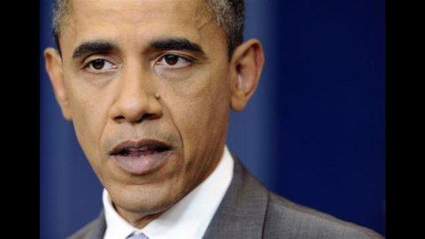 """Obama: """"Siamo un nazione da tripla A"""". Ma Wall Street non ci crede"""
