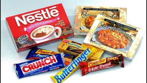 Nestlé, utili semestrali -13%