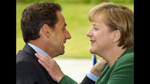 Martedì nuovo incontro Merkel-Sarkozy
