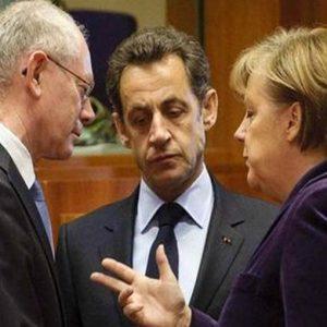 Sarkozy-Merkel a Van Rompuy: niente fondi strutturali ai Paesi non virtuosi