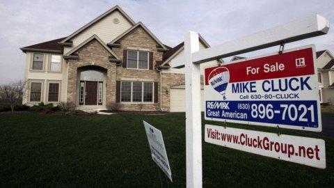 Usa, vendite delle case in calo del 3,5% a luglio