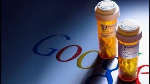 Farmaci, conto da 500 mln per Google