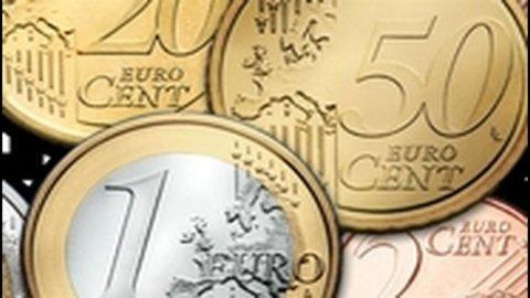 Bankitalia: indice Eurocoin -0,14%, primo rialzo da maggio