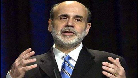 Fed, Bernanke: misure rinviate a settembre