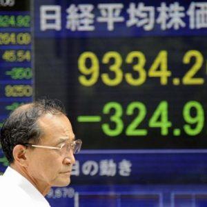 Borsa: mercati asiatici ko, Borse europee caute, Milano debole