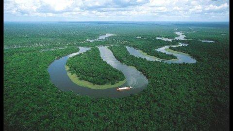 Un fiume sotterraneo in Brasile