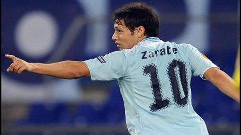 Inter: addio Palacio, arriva Zarate in prestito dalla Lazio