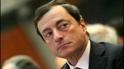"""Bce, Draghi: """"L'aquisto di bond non sia dato per scontato"""""""