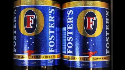 SabMiller acquista Foster, gli inglesi sono i re della birra