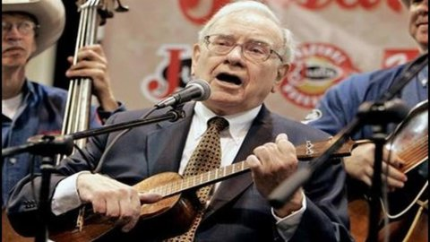 Warren Buffett, sei miliardi di dollari in fumo