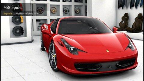 Ferrari, ecco la nuova 458 Spider: da 0 a 100 Km/h in soli 3,4 secondi. Il costo? 226mila euro