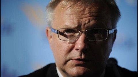 Spagna, Rehn: accordo sugli aiuti alle banche entro qualche settimana