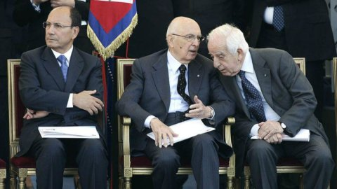 """Napolitano evoca non a caso il governo di tregua Pella: """"Fu breve ma utile"""""""