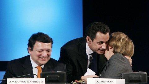 Il rifinanziamento delle banche fa tremare l'asse Berlino-Parigi