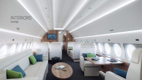 Alenia e Sukhoi Holding acquistano due business jet dagli svizzeri di Comlux. Costo 200 milioni di $