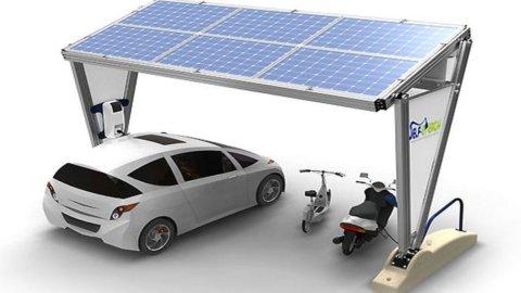 Distributori mobili di energia solare: sbarcano a Parigi, ma l'idea è tutta italiana