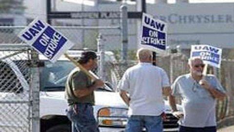 Chrysler-Uaw, raggiunto accordo preliminare per contratto di lavoro