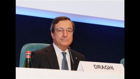 Draghi: l'Italia deve tornare a crescere anche per l'Europa