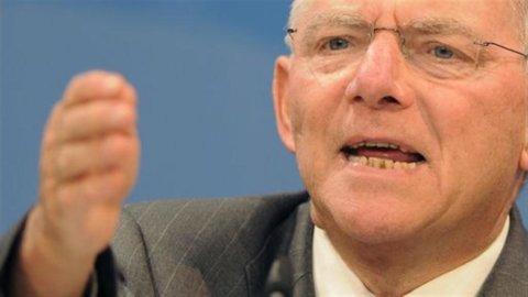 """Eurozona, Schaeuble: """"Tobin Tax anche senza unanimità Ue"""""""