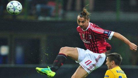 Champions League, Milan vince in scioltezza. Le pagelle