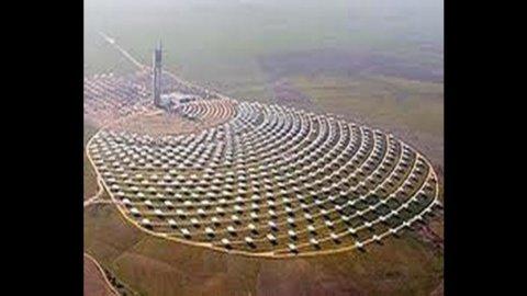 In Spagna un impianto solare da record produce energia per 24 ore consecutive