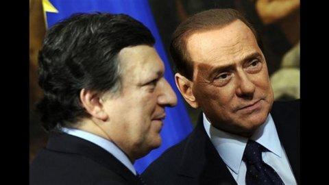"""Barroso: """"Nessuna umiliazione per l'Italia"""""""