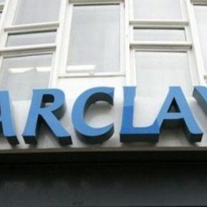 Barclays taglia 3.700 posti di lavoro