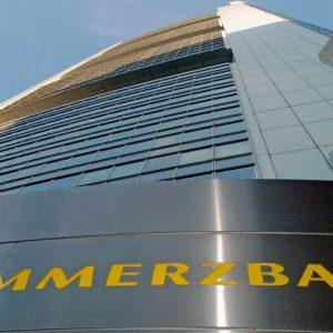 Commerzbank torna in utile ma non convince la Borsa