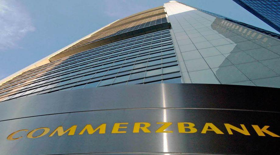 Commerzbank quotata a Francoforte
