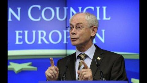 Barroso-Van Rompuy: l'Italia ha chiesto il monitoraggio di Fmi e Ue