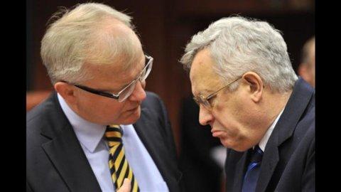 Ue, Rehn: dall'Italia aspettiamo un segnale