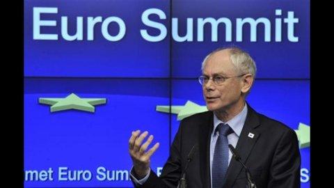 Van Rompuy: in Italia riforme, non elezioni