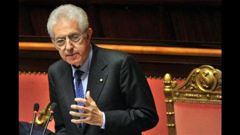 Governo, fiducia del Senato a Monti: tutti a favore tranne la Lega e oggi tocca alla Camera