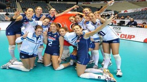 Volley, Italia in cima al mondo: dopo il biglietto per Londra le azzurre si prendono la World Cup