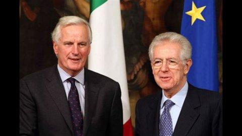 Barnier: l'Italia non è sotto tutela, ha buoni fondamentali