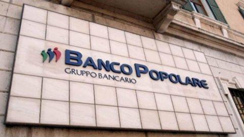 Banco Popolare, utili a 185 milioni di euro ma niente dividendi