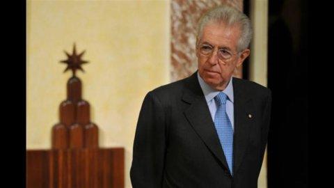 Monti: senza manovra, Italia come Grecia