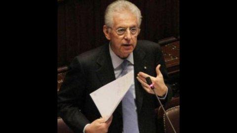 """Cipe, Monti: """"Domani sblocco 5,2 mld per infrastrutture"""""""