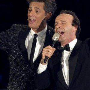 Fiorello-Benigni-Berlusconi lo strano trio che fa impazzire lo share
