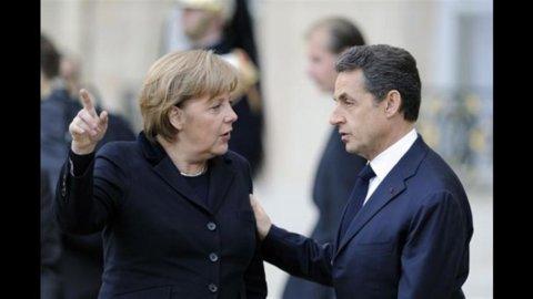 """Vertice Ue da brividi, Sarkozy: """"Ultima possibilità"""". Merkel: """"Sarà difficile"""""""