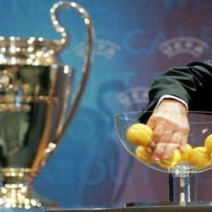 Sorteggio Champions: negli ottavi Milan-Arsenal, Napoli-Chelsea e Marsiglia-Inter