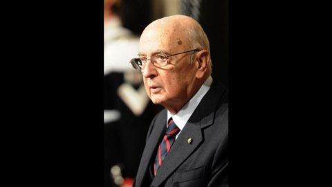 """Napolitano: """"Berlusconi? Era al limite"""". E per il Presidente """"è stato meglio evitare le urne"""""""