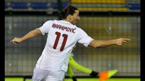 PAGELLE DELLA A – Buon Milan : con un Ibra super, sbanca Bergamo e punta a vincere il derby