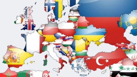 Italia, Francia, Spagna e soprattutto Grecia mettono in allarme l'euro e Monti corre a Bruxelles