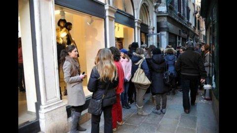 Istat: in ripresa l'indice delle vendite al dettaglio
