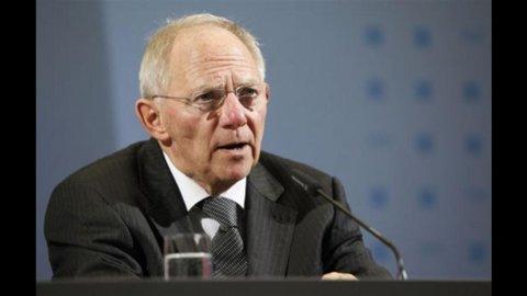"""Efsf, Schaeuble: le garanzie tedesche al Fondo sono """"ampiamente sufficienti"""""""